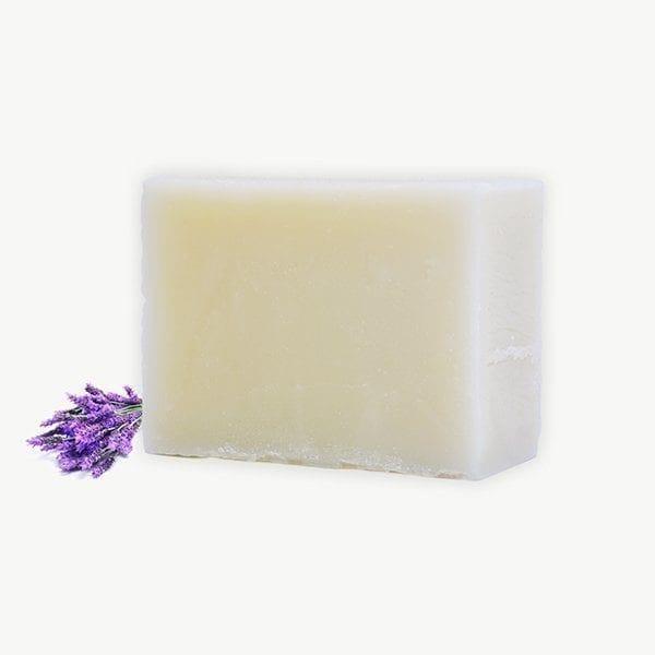סבון מוצק טבעי בניחוח לבנדר
