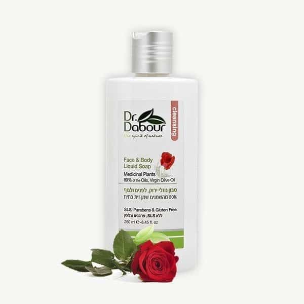 סבון נוזלי ירוק – ורדים